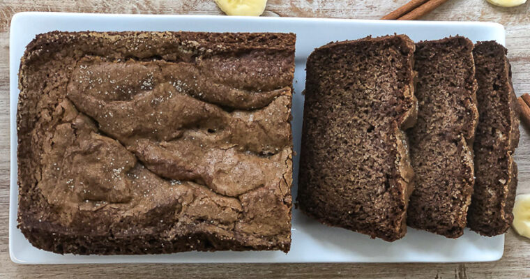 Dairy and Gluten-Free Banana Bread