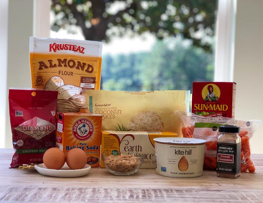 Morning Muffin Ingredients