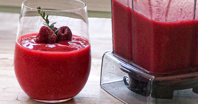 Raspberry Lemonade Vodka Slush