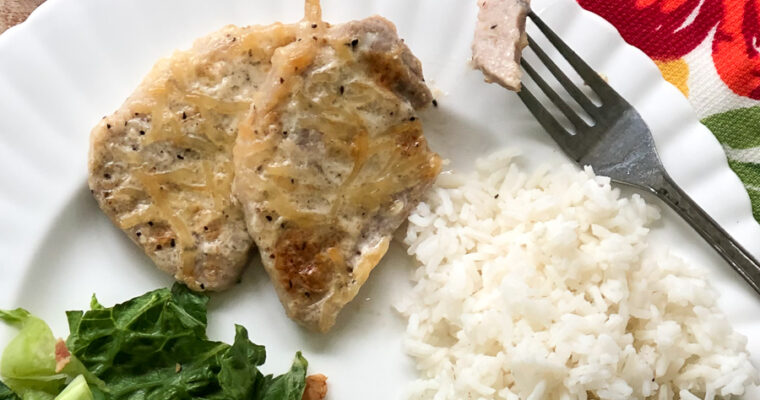 3 Ingredient Baked Pork Chops
