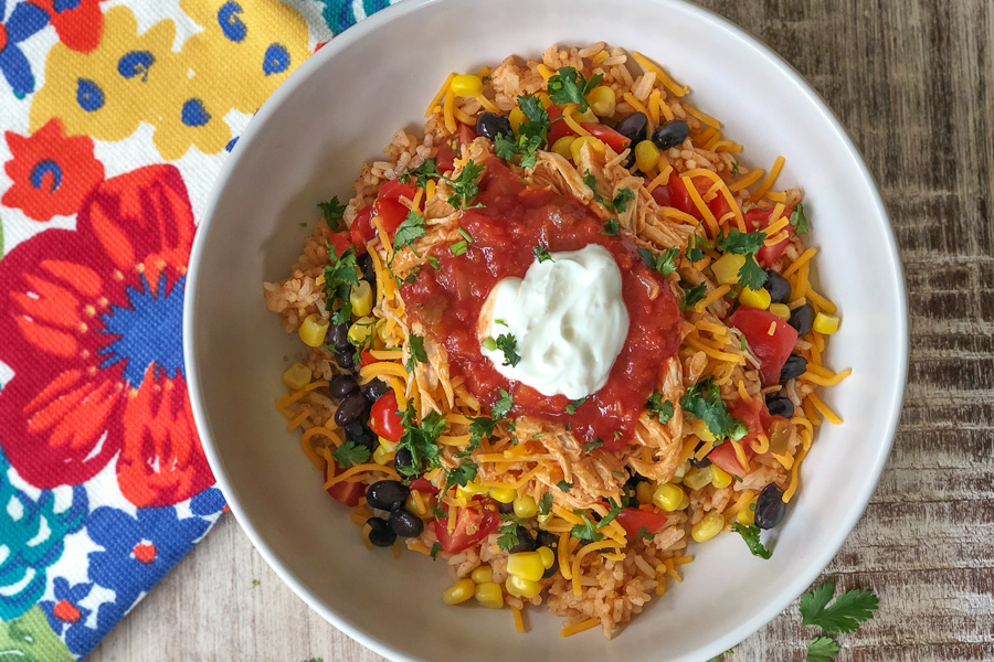 Instant Pot Enchilada Bowl