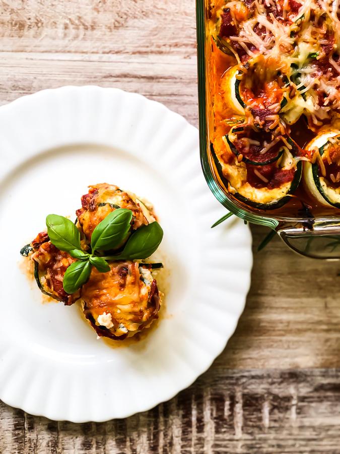 Simple Keto Zucchini Lasagna