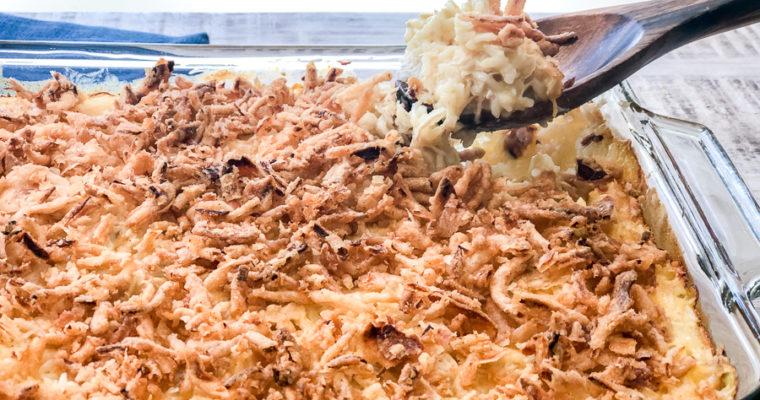 Creamy Crunchy Chicken Casserole