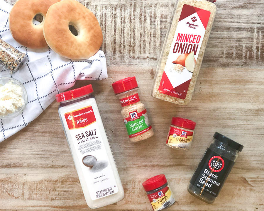Ingredients for Everything Bagel Seasoning