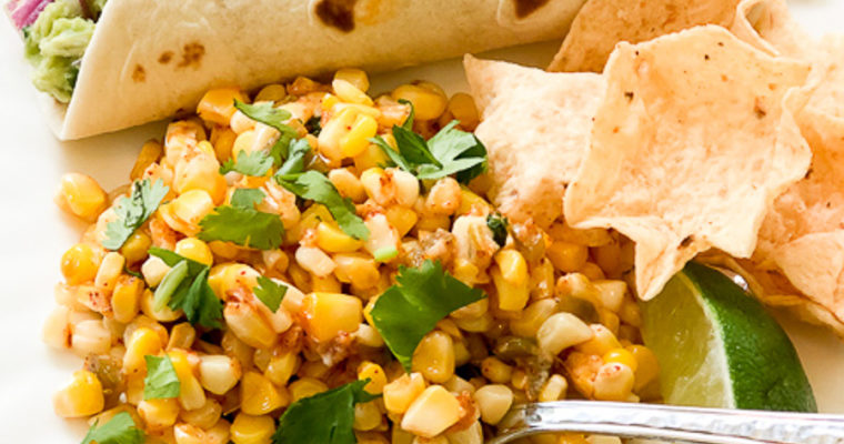 Roasted Street Corn Salad