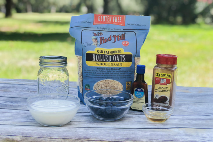 Simple Healthy Overnight Oats