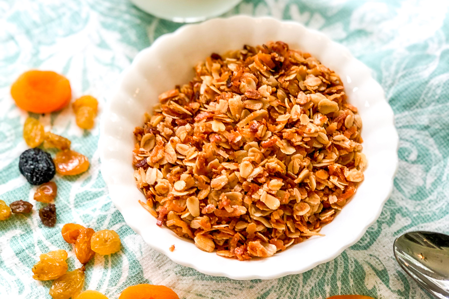 Sweet and Simple Granola
