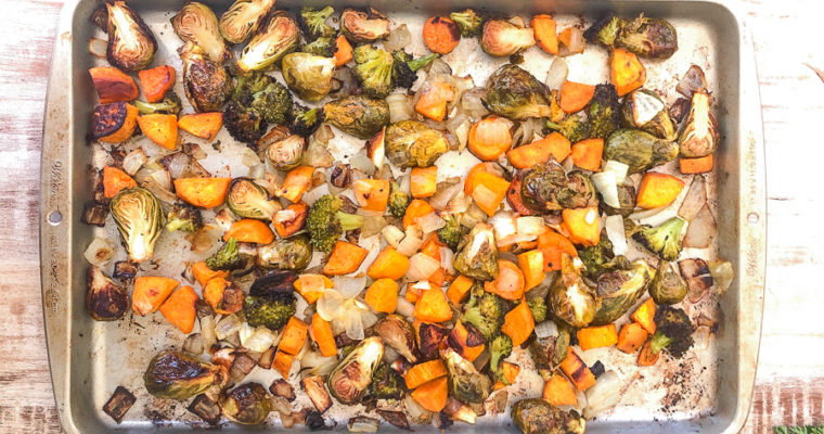 Easy Oven Roasted Vegetables