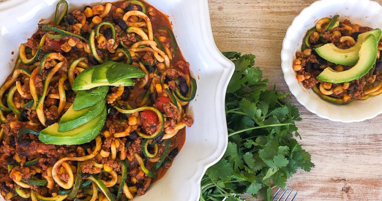 Mexican Zoodles
