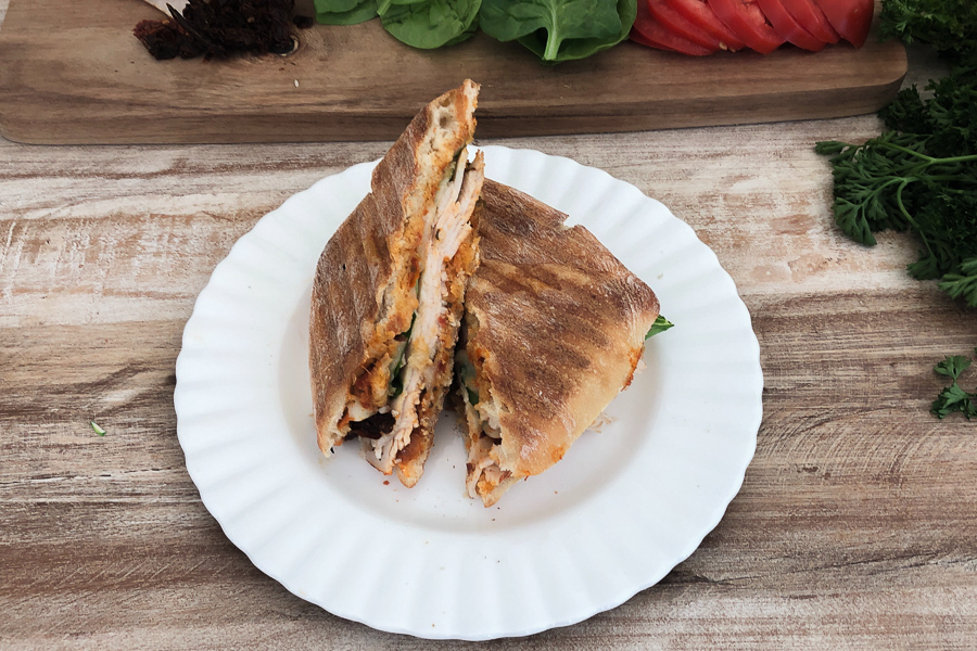 Sun-dried Tomato Pesto Panini