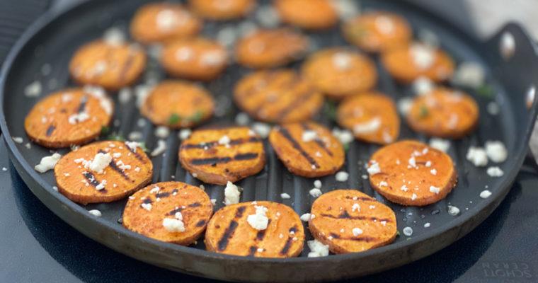 BBQ Sweet Potato Slices