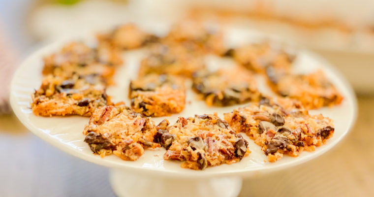 Quick Bake Magic Bars