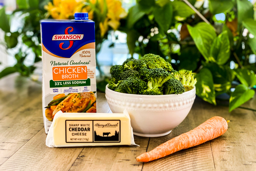 Ingredients for Quick Broccoli