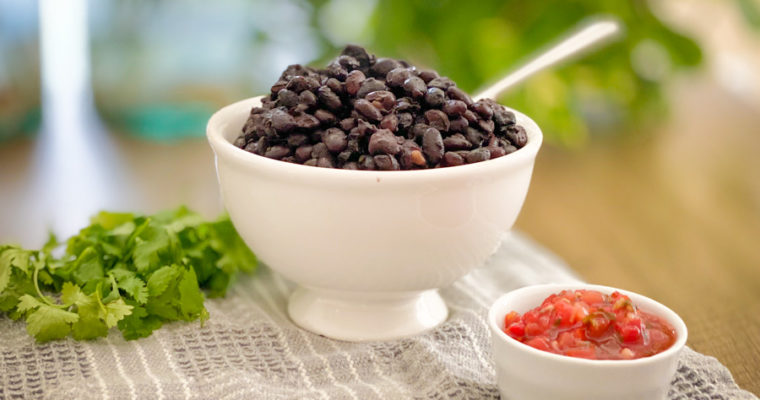 Simple Southwest Black Beans