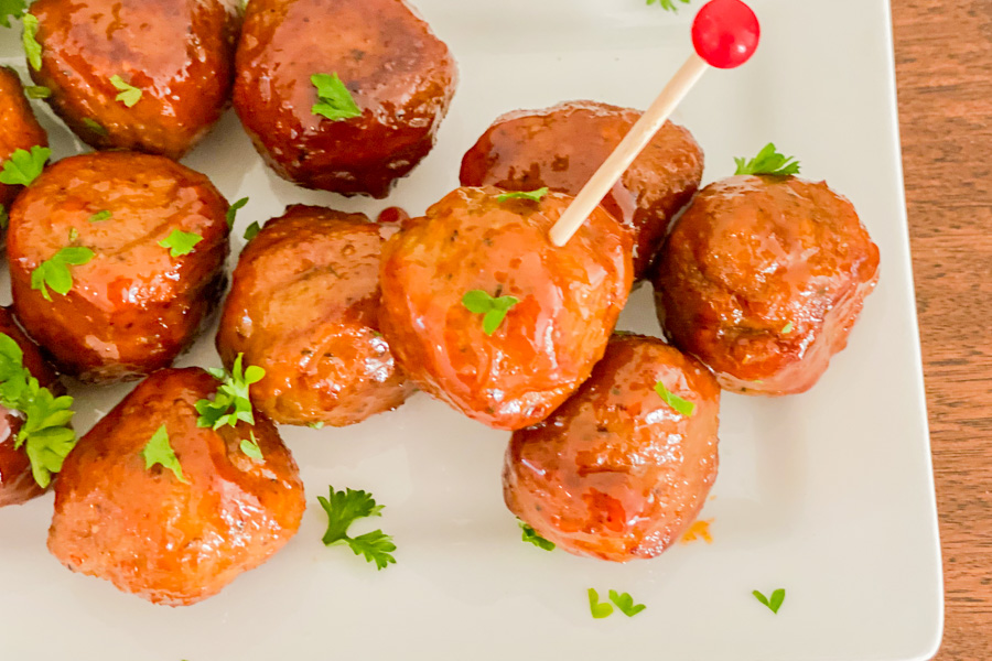 Final of our Spicy Honey Meatballs