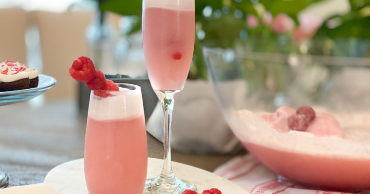 Champagne Sherbet Punch