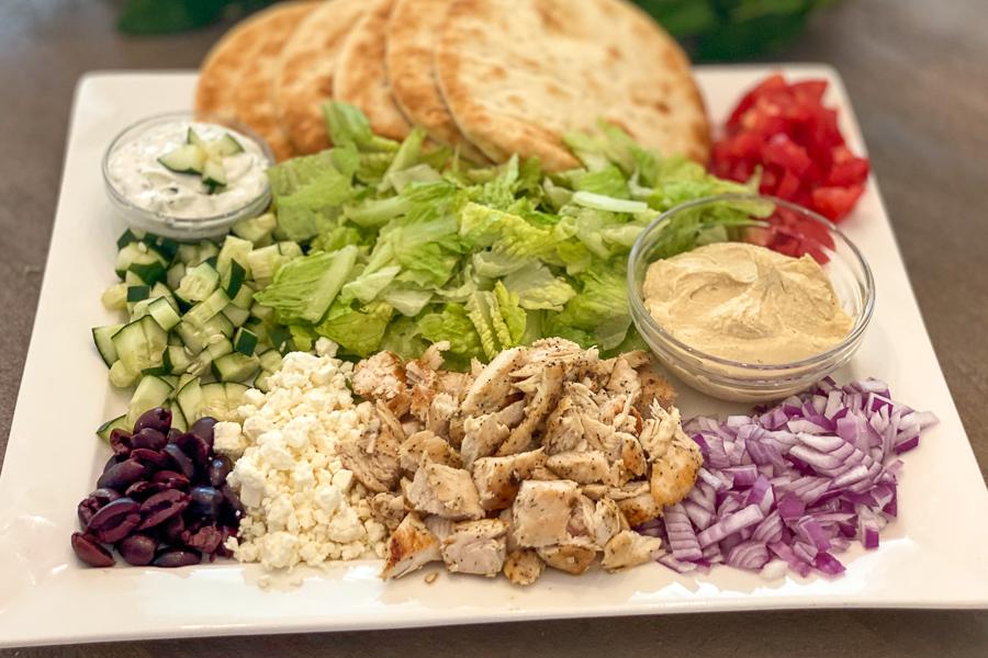 Ultimate Greek Chicken Platter