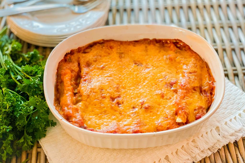 Baked 5 Ingredients lasagna