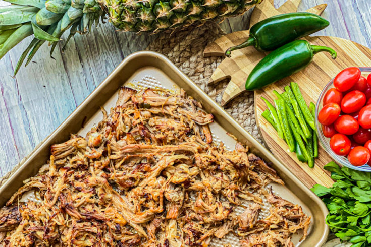 Crispy Slow Cooker Pork Carnitas