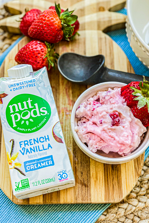 2 Ingredient Whole30 Ice Cream