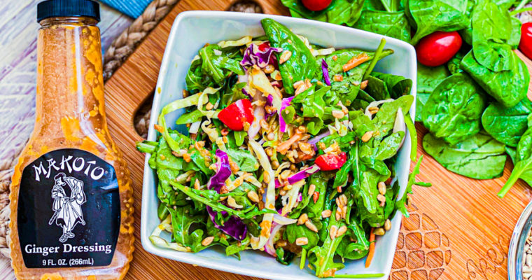 Asian Spinach Salad