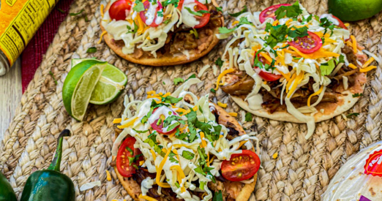 Incredible Pork Tostada