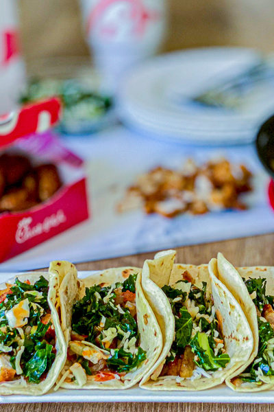 Chick Fil A Tacos