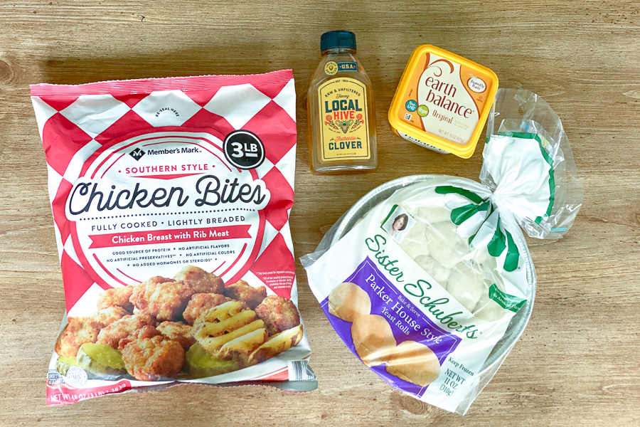 Ingredients for Mini Chicken Biscuits