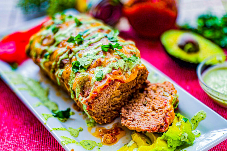 Mexican Meatloaf with Salsa