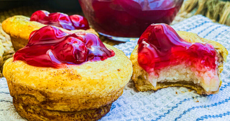 5 Ingredient Cherry Tarts