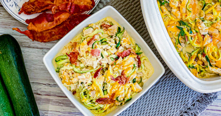 Cheesy Zucchini Chicken Casserole