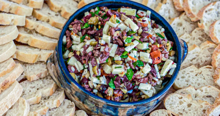 Chunky Green Olive Tapenade Recipe