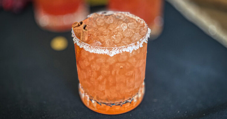 The Perfect Fall Margarita