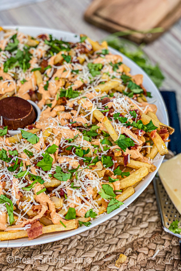 Loaded Aioli Cheese Fries Recipe