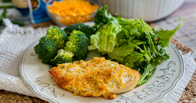 Cheddar Ranch Chicken Bake