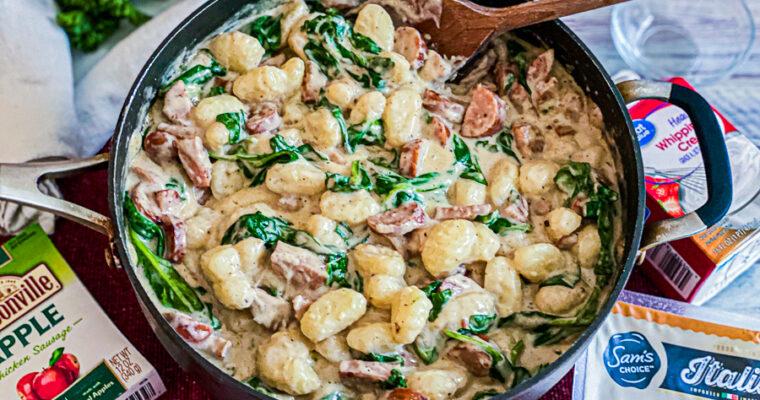 Italian Chicken Gnocchi Recipe