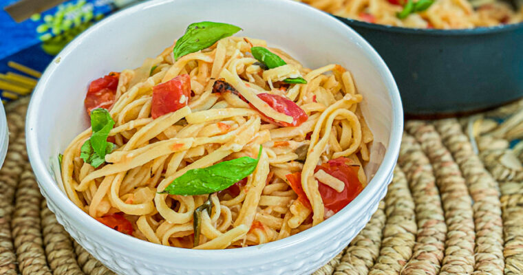 One Pot Meatless Pasta